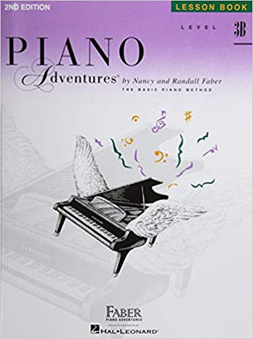 Level 3B - Lesson Book: Piano Adventures Paperback