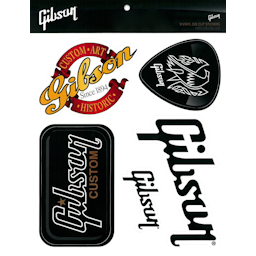 Gibson 9 Vinyl Die Cut Stickers
