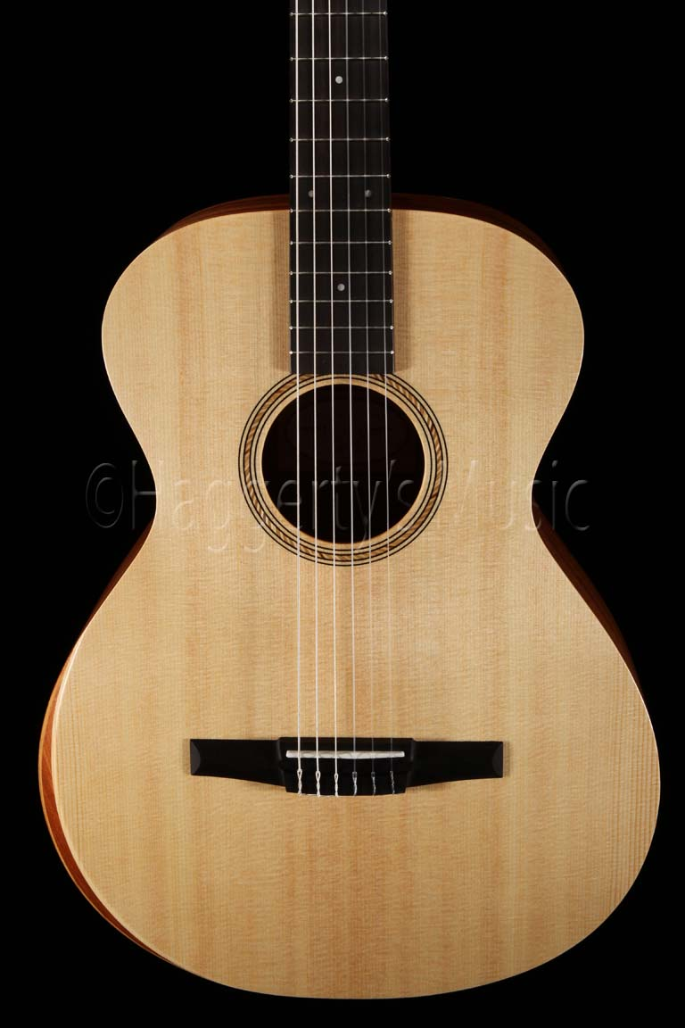 Taylor Academy 12-N Nylon Acoustic Guitar Body Front - Haggerty's Music