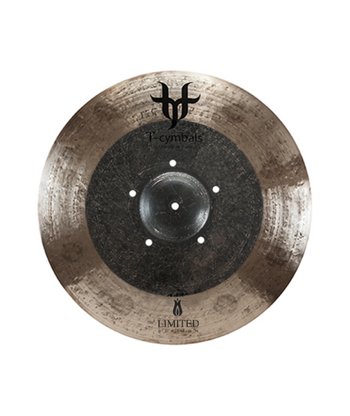"T-Cymbals 18"" limited edition crash"