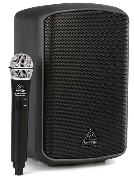 Behringer MPA100BT Portable 100W Speaker and Wireless Mic from Haggertys Music
