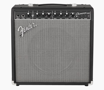 Fender Champion 40 Black/Silver Amp