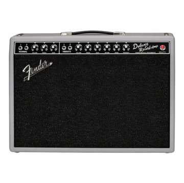 Fender 65 Deluxe Reverb Gray Black Combo Amplifier