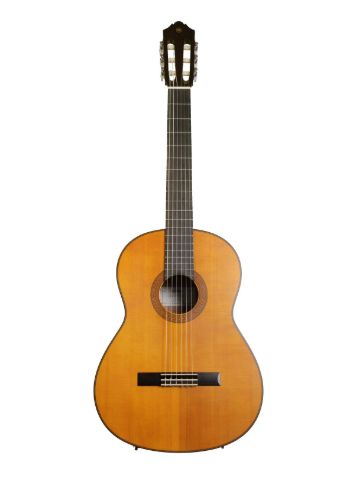 Yamaha CG122MCH Solid Cedar Top Classical Guitar- Natural