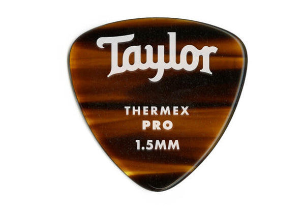 Taylor Premium Darktone 346 Thermex Pro Picks, Tortoise Shell, 1.50mm, 6-Pack
