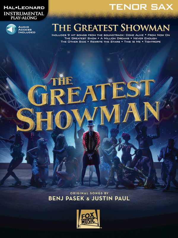The Greatest Showman for T. Sax by Benj Pasek & Justin Paul