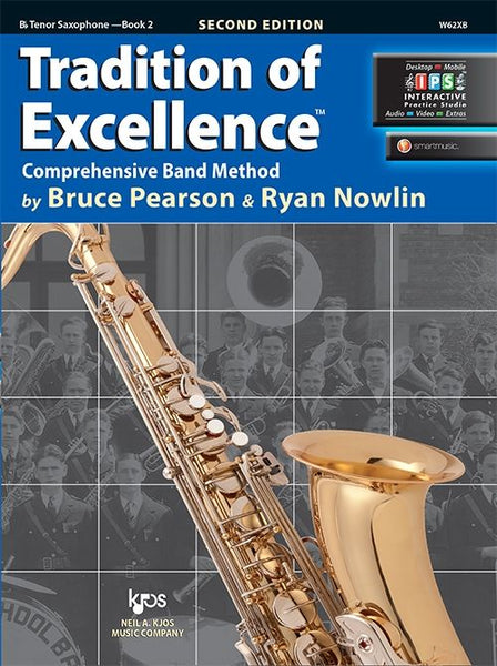 Tradition of Excellence Book 2 Bb Tenor Saxophone