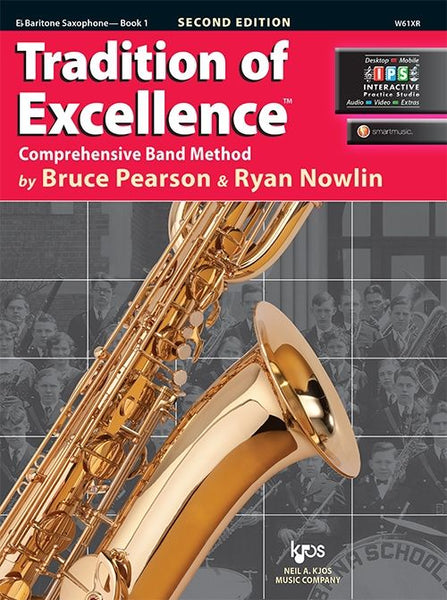 Tradition of Excellence Book 1 Eb Baritone Saxophone