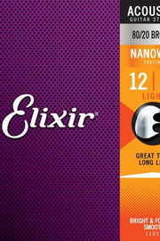 Elixir 11077 Acoustic String Set, .012-.056