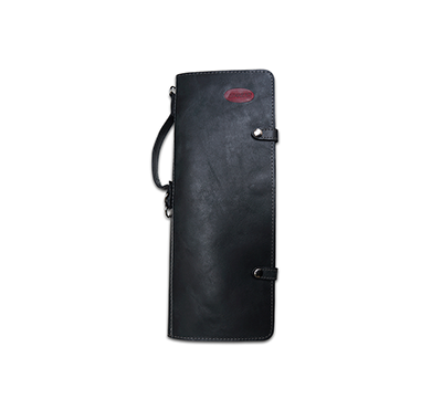 Ahead Handmade Leather Stick Case Black