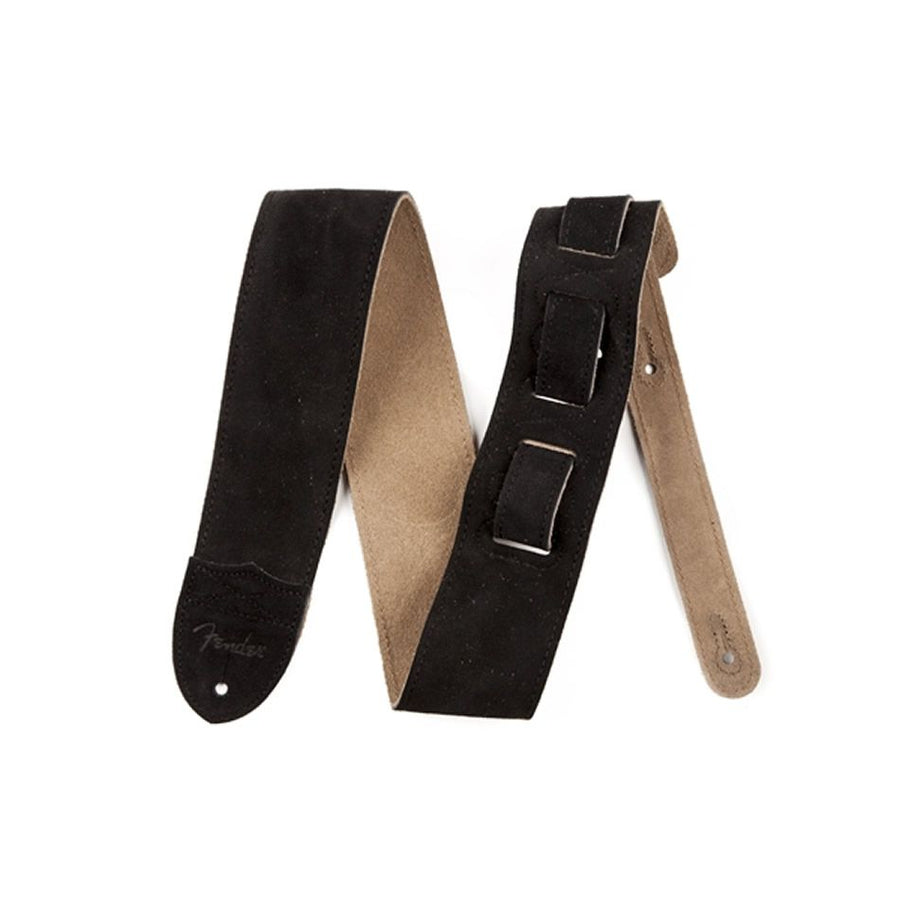 Fender Black Suede Guitar Strap