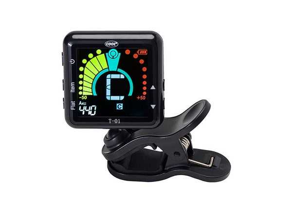 Cool Rechargeable Magnetic Clip-on Tuner from Haggertys Music
