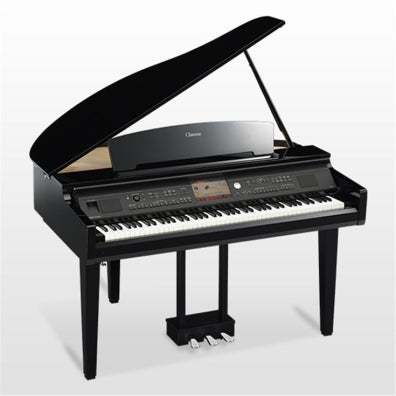 Yamaha CVP709GP Polished Ebony Clavinova ensemble digital brand piano w/bench