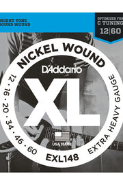 D'Addario EXL148 Electric String Set, .012-.060