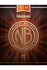 D'Addario NB1047 Acoustic String Set, .010-.047