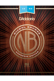 D'Addario NB1253 Acoustic String Set, .012-.053