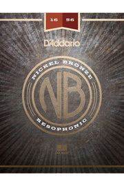 D'Addario NB1656 Acoustic String Set, .016-.056
