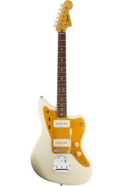 Squier J Mascis Jazzmaster Electric Guitar Vintage White