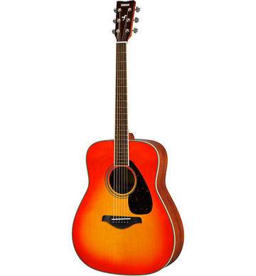 Yamaha FG820 Dreadnought Acoustic Guitar Autumn Burst