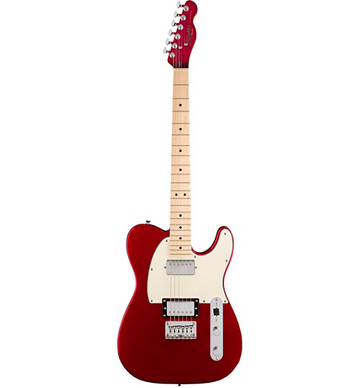 Squier Contemporary Telecaster HH Maple Fingerboard Electric Guitar Dark Metallic Red