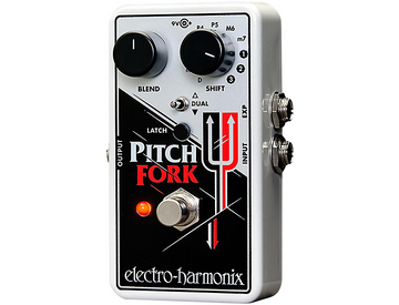 Electro-Harmonix Pitch Fork Polyphonic Pitch Shifting Guitar Effects Pedal