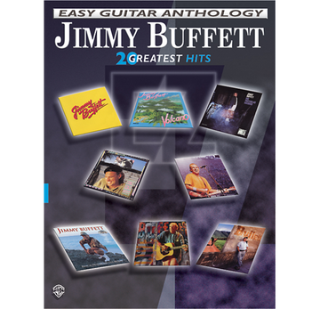 Alfred Jimmy Buffett Easy Guitar Anthology book