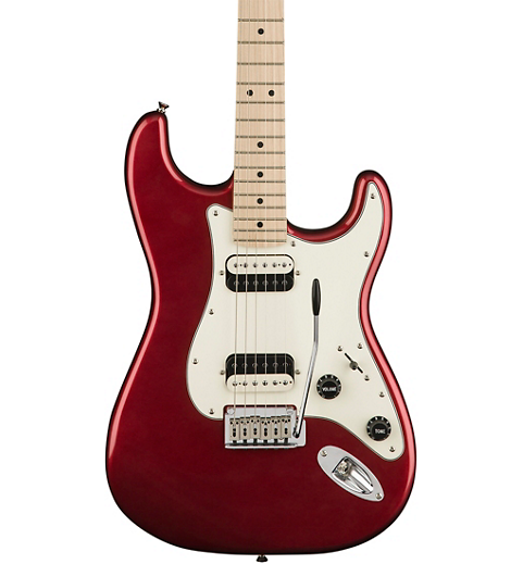 Squier Contemporary Stratocaster HH Maple Fingerboard Electric Guitar - Dark Metallic Red