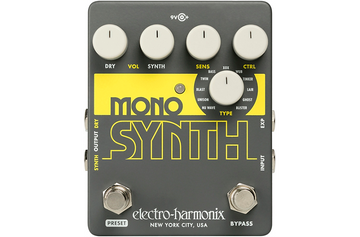 Electro-Harmonix Guitar Mono Synth Effects Pedal