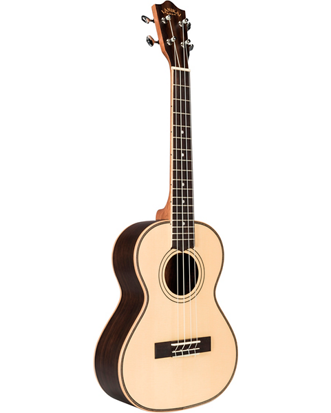 Lanikai SPST-T Solid Spruce Top Morado Back and Side Tenor Ukulele Natural