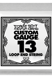 .013 Loop End Stainless Steel Plain Banjo or Mandolin Guitar Strings 6 Pack