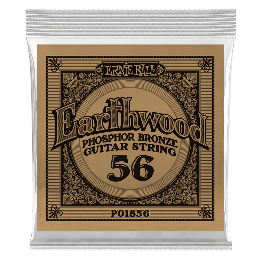 .056 Earthwood Phosphor Bronze Acoustic Guitar Strings 6 Pack
