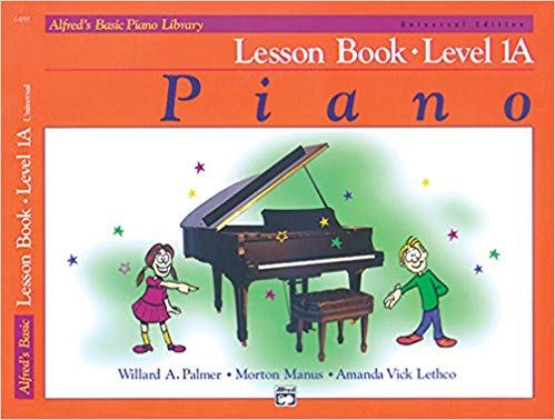Alfred's Basic Piano Course Lesson Book Level 1A (Alfred's Basic Piano Library) Paperback