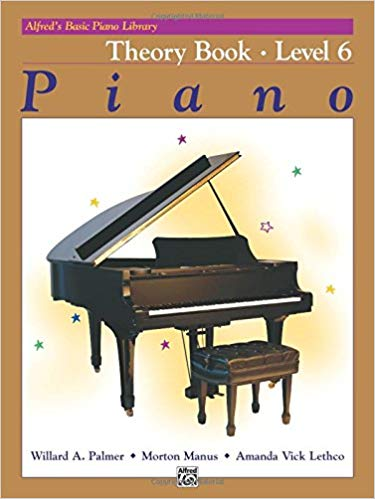 Alfred's Basic Piano Course: Piano Theory Book, Level 6