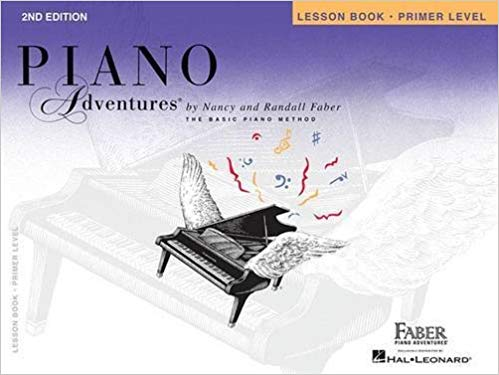 Primer Level - Lesson Book: Piano Adventures Paperback