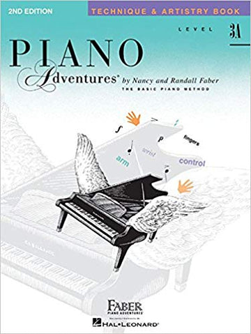 Level 3A - Technique & Artistry Book: Piano Adventures 2nd Edition
