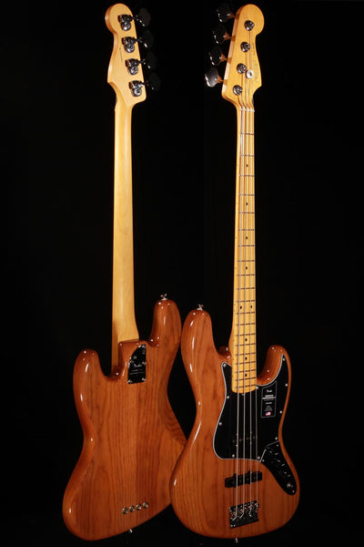 Fender American Professional II Jazz Bass Roasted Pine w/Maple Neck & Hardshell Case