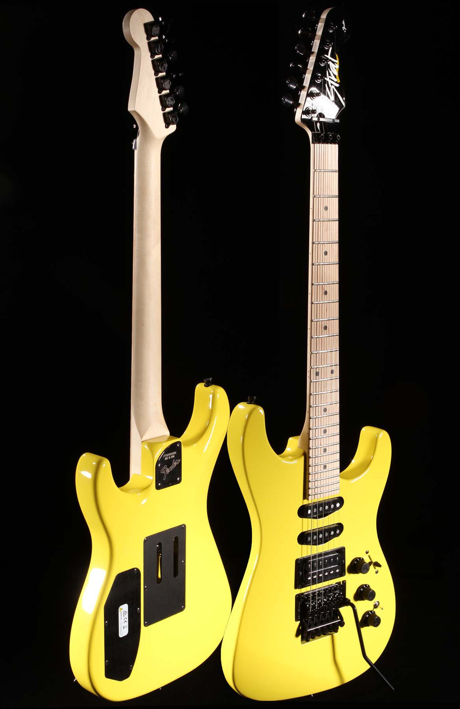 Fender HM Strat Frozen Yellow 0060