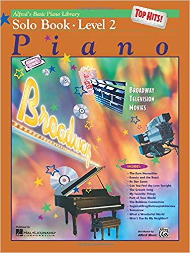 Alfred's Basic Piano Library Top Hits! Solo Book, Bk 2 Paperback