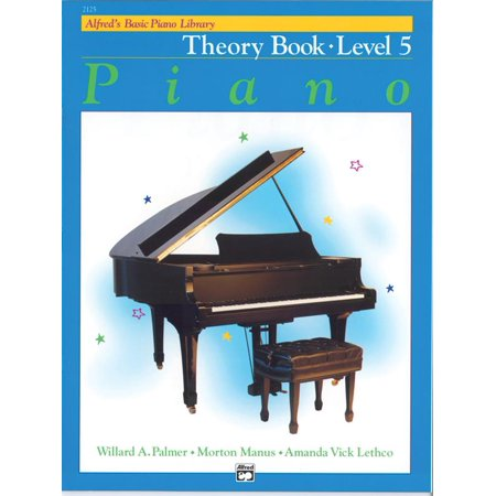 Alfred's Basic Piano Library Theory, Bk 5 from Haggertys Music