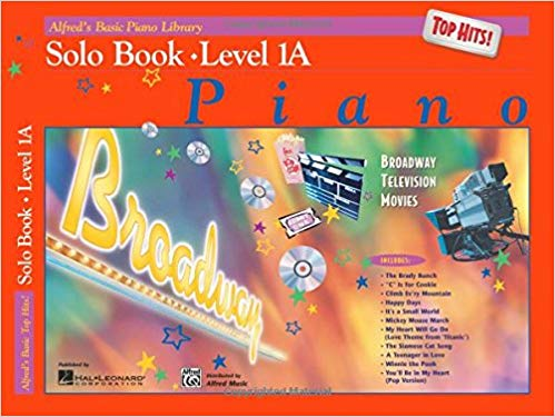 Alfred's Basic Piano Library Top Hits! Solo Book, Bk 1A Paperback