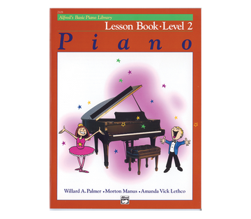 Alfred Alfred's Basic Piano Course Lesson Book Level 2