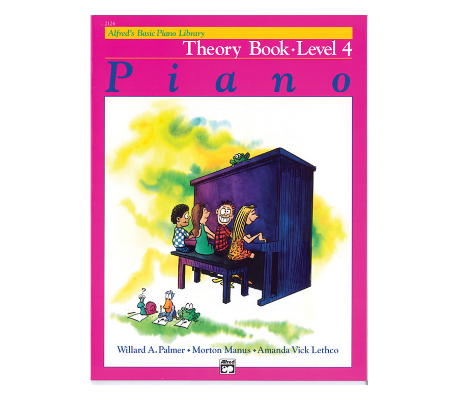 Alfred Alfred's Basic Piano Course Theory Book 4