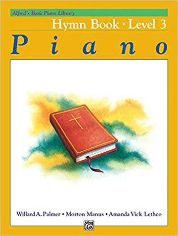Alfred's Basic Piano Library Hymn Book, Bk 3 Paperback