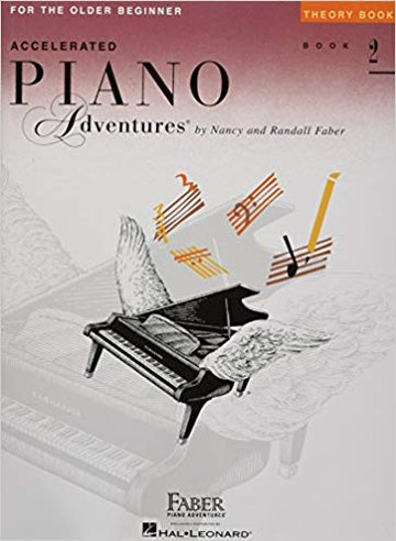 Accelerated Piano Adventures for the Older Beginner: Theory Book 2 Paperback