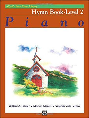 Alfred's Basic Piano Library Hymn Book, Bk 2 Paperback