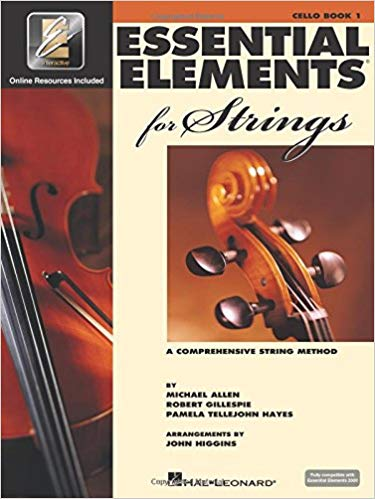 Essential Elements for Strings - Book 1 with EEi: Cello Paperback
