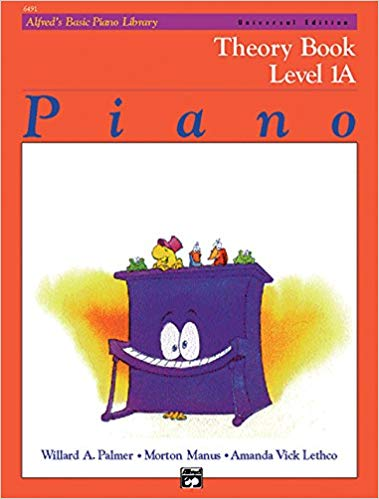 Alfred's Basic Piano Course: Theory Book, Level 1A Paperback
