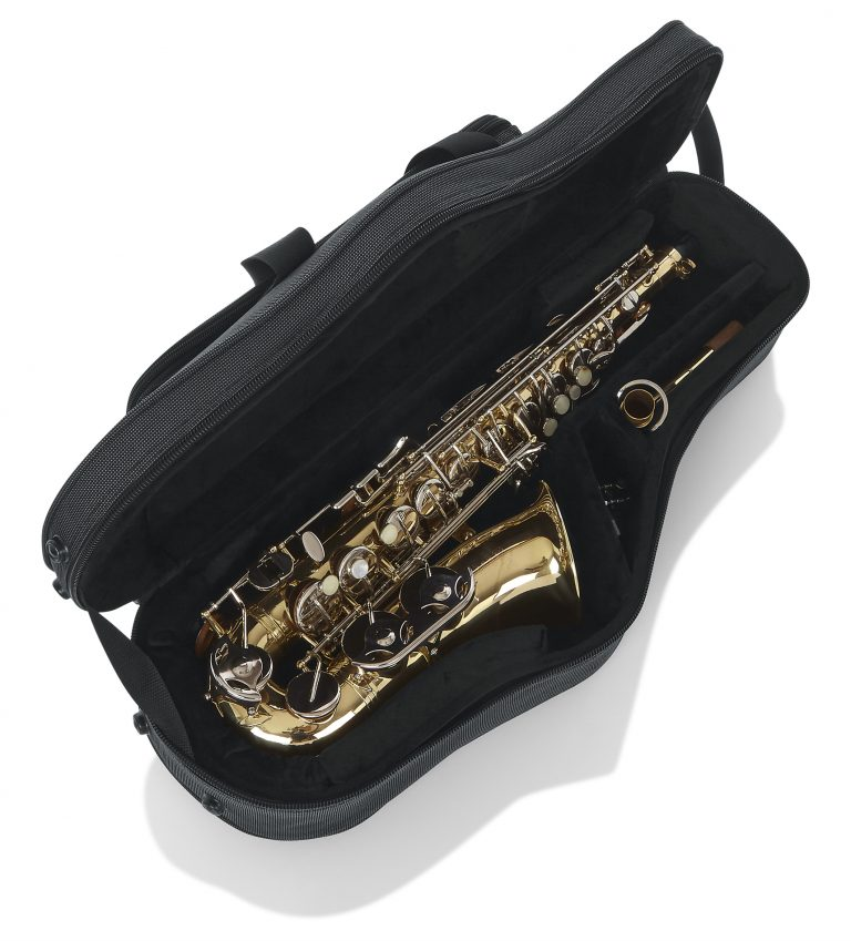 Alto Sax Case w/mouthpiece storage (GL-ALTOSAX-MPC)