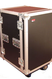 14U, Standard Road Rack Case w/ Casters (G-TOUR 14U CAST)
