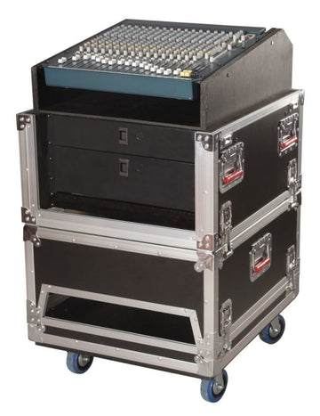 14U Top, 6U Side Road Console Rack (G-TOUR-GRC-1406}